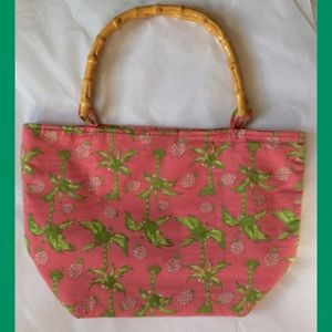 Handbags - Pink Palm Tree🌴 & Pineapple 🍍 Handbag